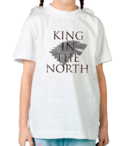 Детская футболка  King in the North