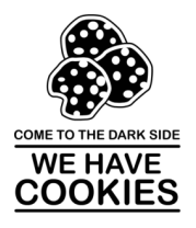 Бейсболка Come to DS we have Cookies