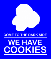 Детская футболка  Come to DS we have Cookies