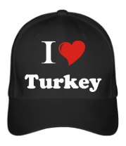 Бейсболка I love turkey
