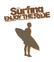 Толстовка без капюшона Surfing enjoy