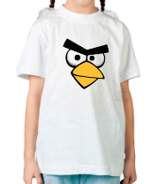 Детская футболка  Angry Birds Red Face