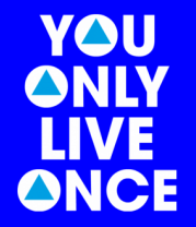 Детская футболка  You Only Live Once