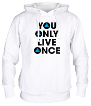 Толстовка You Only Live Once