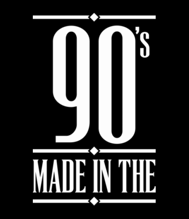 Детская футболка  Made in the 90s