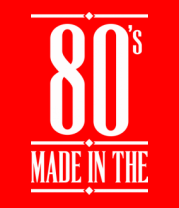 Детская футболка  Made in the 80s