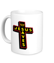 Кружка Jesus Saves_3D