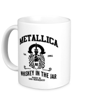 Кружка Metallica Whiskey in the Jar