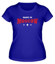Женская футболка  Made in Moscow