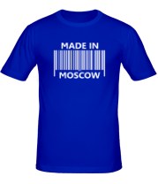 Мужская футболка  Made in Moscow