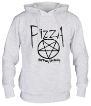 Толстовка Eat pizza, die young!