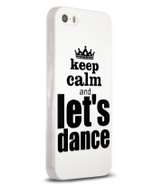 Чехол для iPhone Keep calm & let's dance