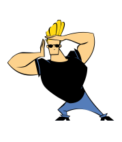 Чехол для iPhone Johnny Bravo