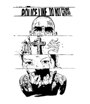 Чехол для iPhone Police line do not cross