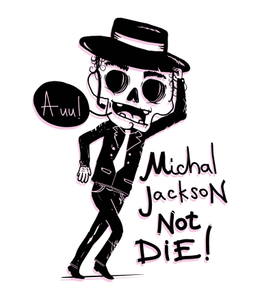 Чехол для iPhone Michael Jackson no die!