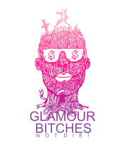 Чехол для iPhone Glamour bitches notdie!