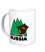 Кружка Welcome to Russia