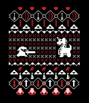 Женская футболка  Its Dangerous To Go Alone At Christmas