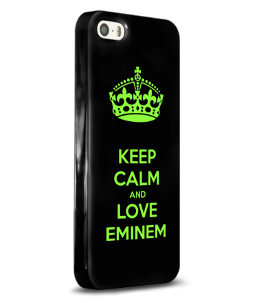 Чехол для iPhone Love Eminem