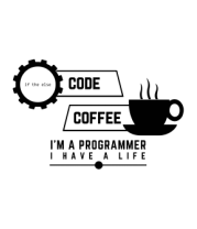 Кружка Programmer : coffee and code.