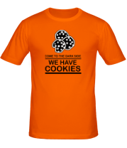 Мужская футболка  Come to DS we have Cookies