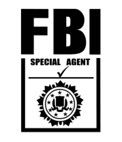 Чехол для iPhone Special agent FBI