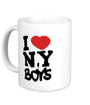 Кружка I love New York Boys