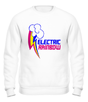 Толстовка без капюшона Electric Rainbow