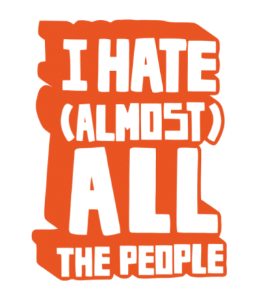 Детская футболка  I Hate Almost All The People